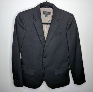 J Crew Ludlow Blazer Black Wool Two Button sz 4